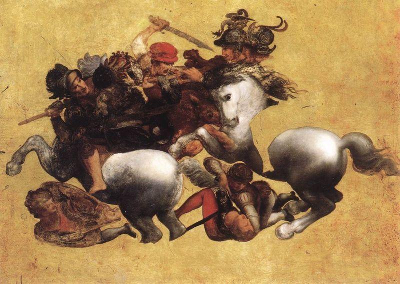 The Battle of Anghiari by Rubens