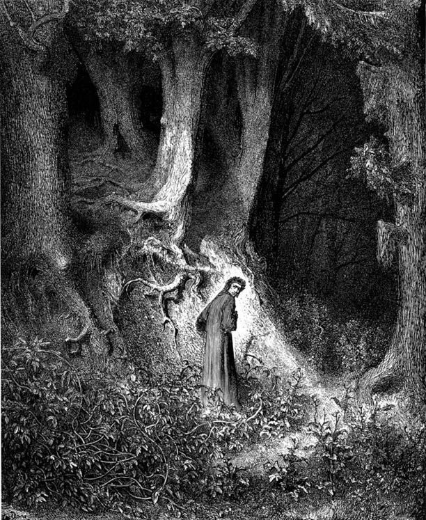 A Gustave Dorè illustration of the Divine Comedy