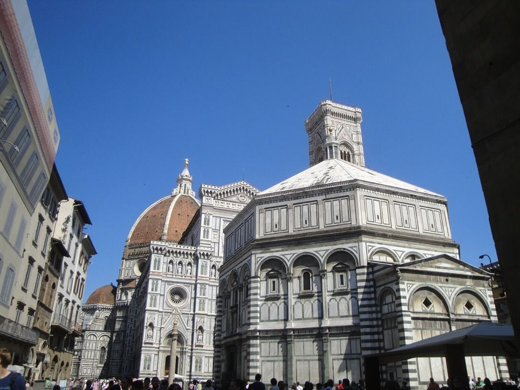 Florence Baptistry and the Duomo