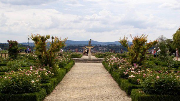 A course in the Boboli Gardens
