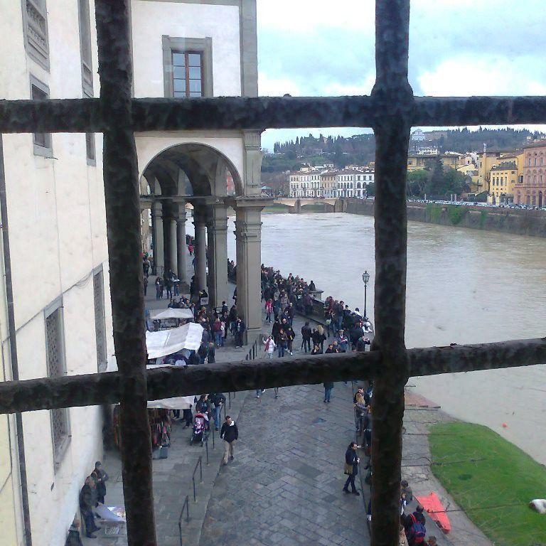 View from Florence Vasari Corridor