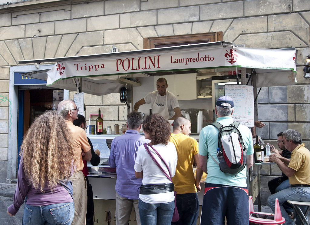 Florentine street food by Eric Parker
