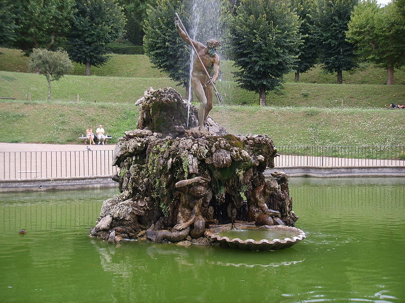 The Fountain of the Fork in Boboli Gardens
