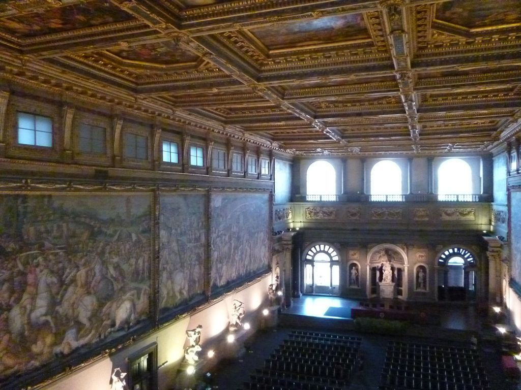 Hall of the Five Hundred, Palazzo Vecchio