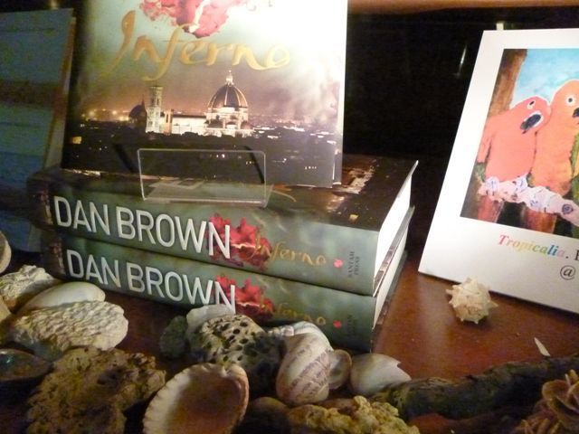 Dan Brown Inferno in The Paperback Exchange