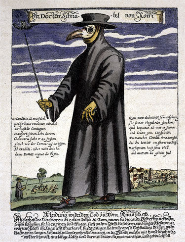 The Plague Doctor Mask