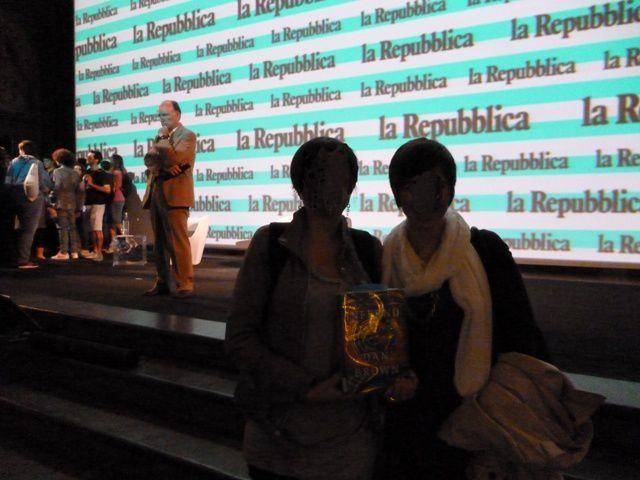Shadows at the Repubblica delle Idee