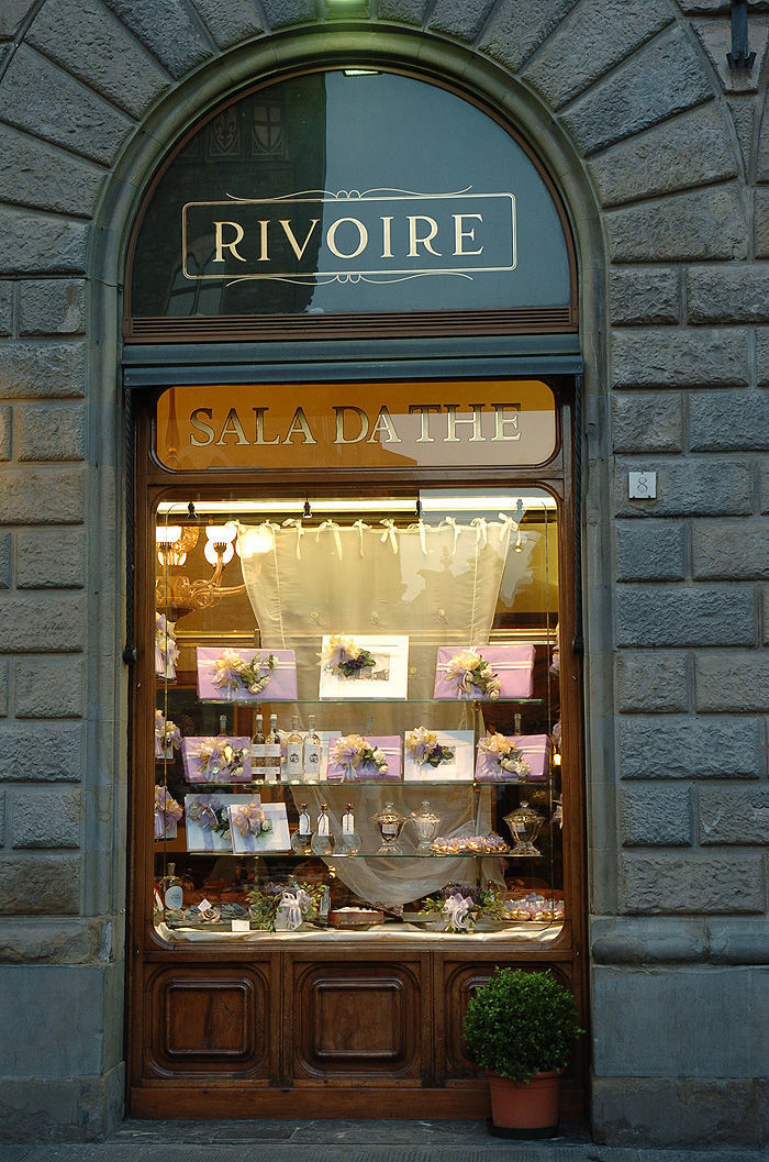 Revoire's shop window