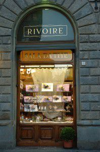 Rivoire's shop window