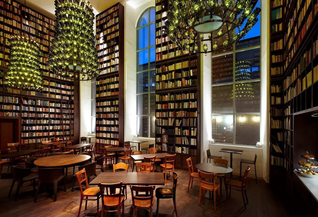 A stunning library