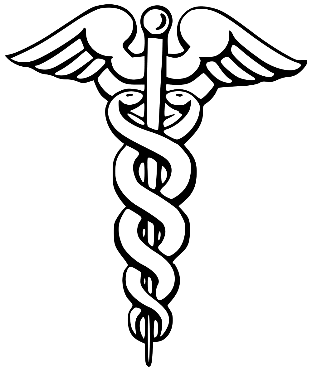 The Caduceus symbol