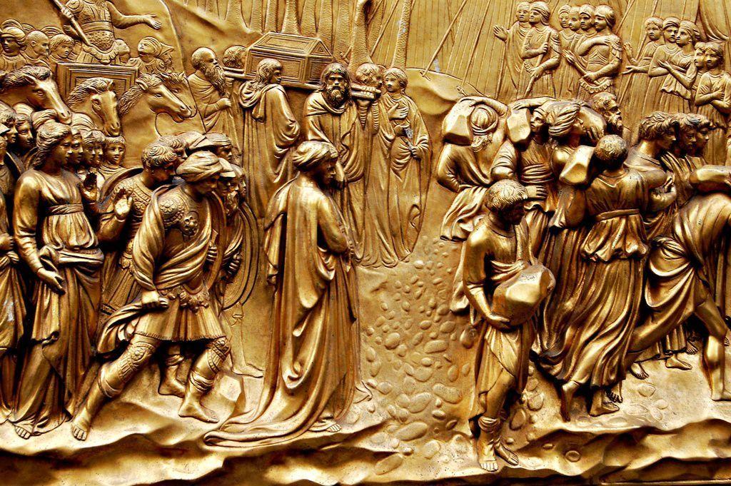 Story of Joshua on the Gates of Paradise