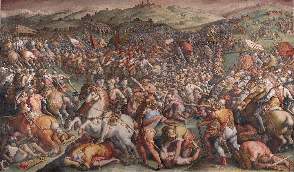 The Battle of Marciano by Giorgio Vasari