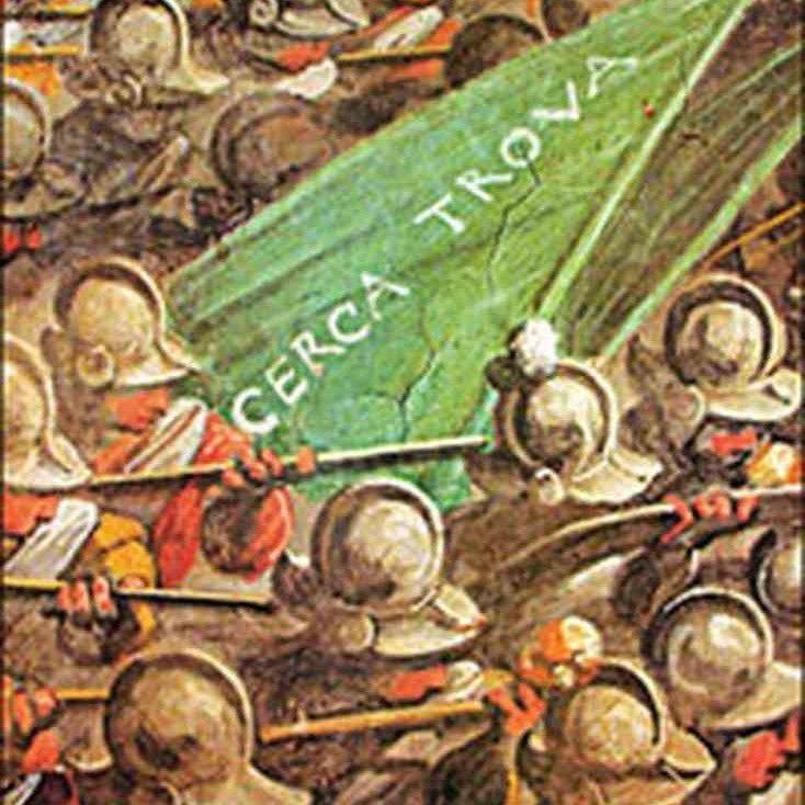 Cerca trova inscription in The Battle of Marciano