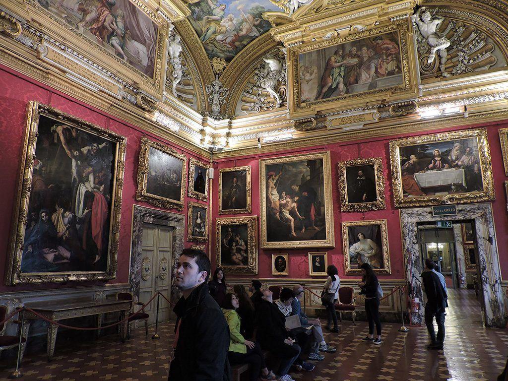 Galleria Palatina, Palazzo Pitti by Dimitris Kamaras