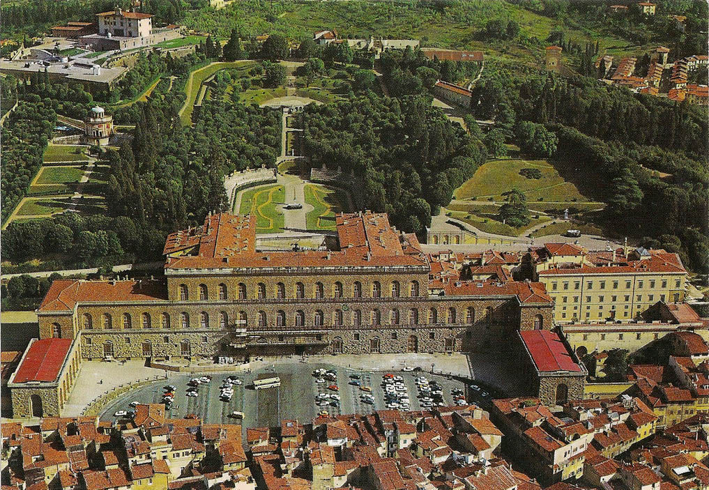 Palazzo Pitti and the Boboli Gardens