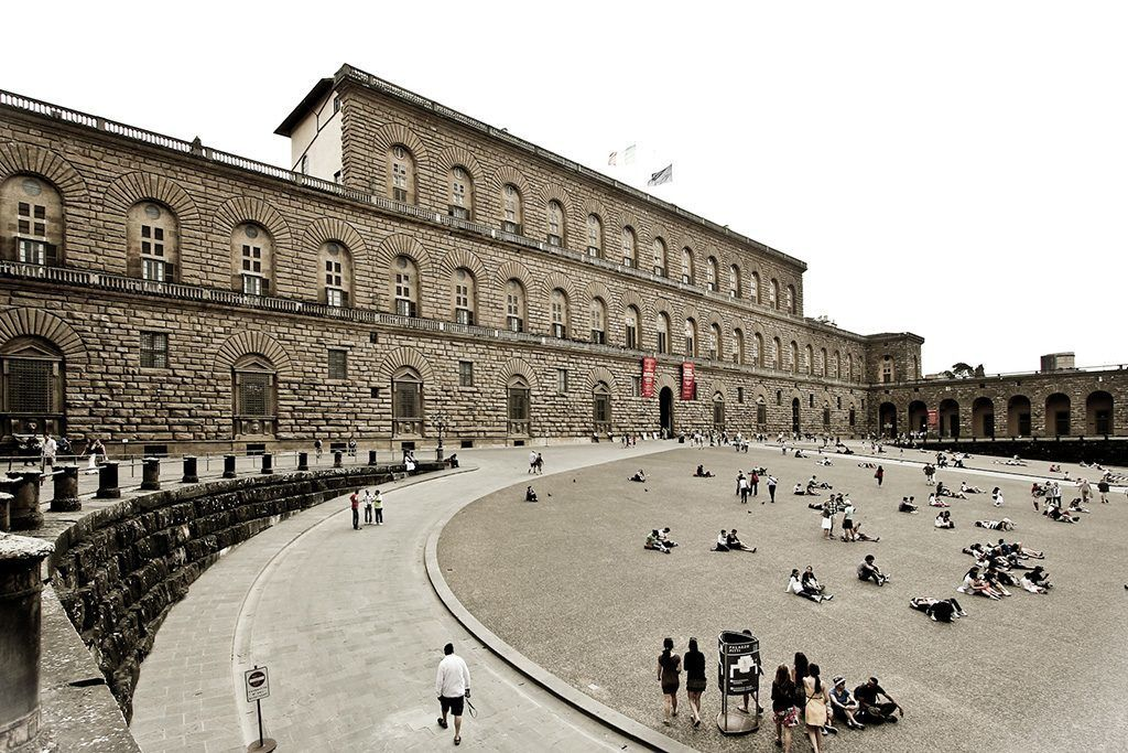Pitti Palace, Florence by Avital Pinnick