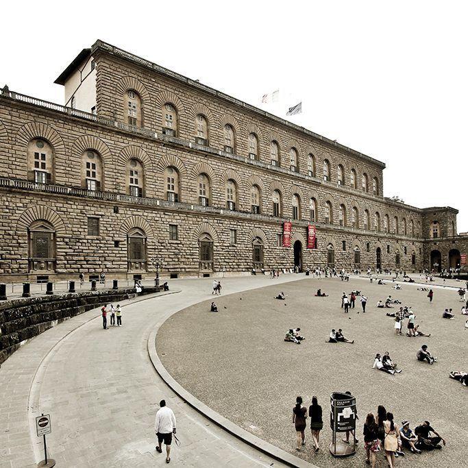 Pitti Palace, Florence by Avital Pinnick