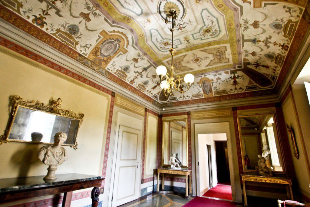 An interior space in the Pitti Palace