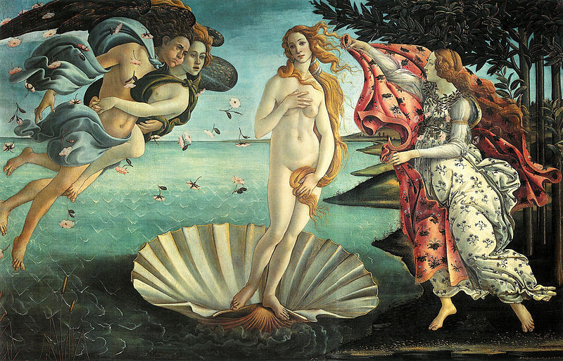 The Birth of Venus by Botticelli