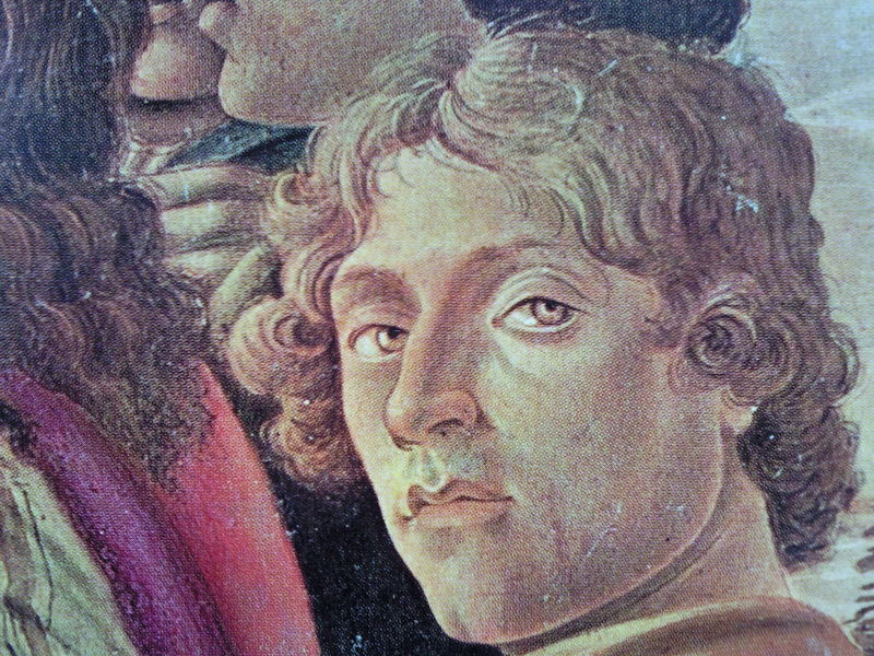 Sandro Botticelli self portrait