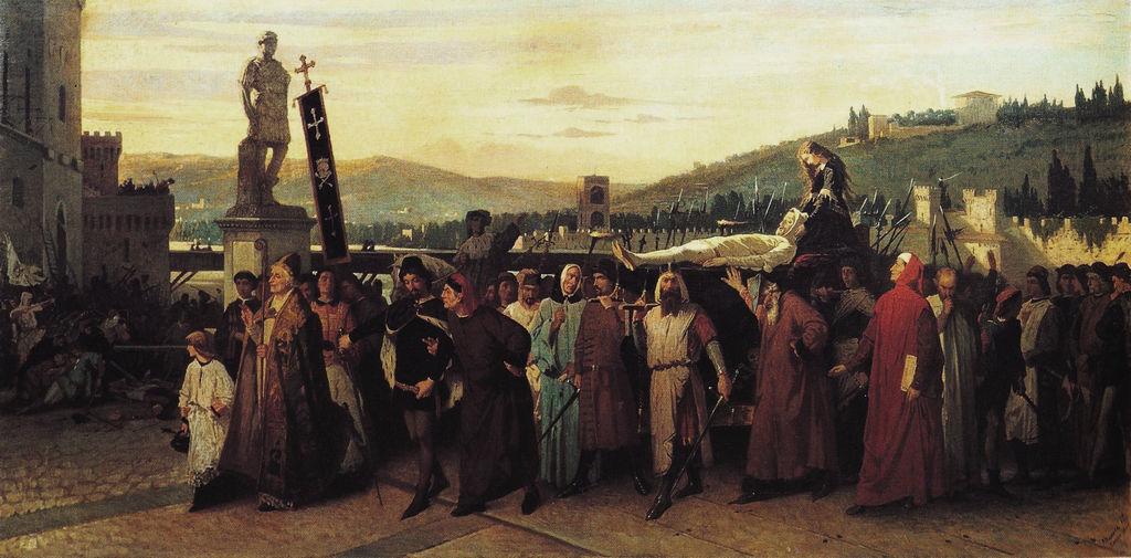 Buondelmonte funeral procession