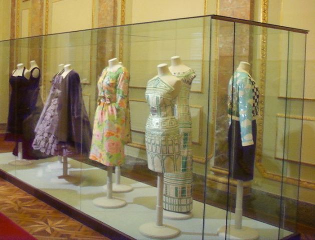 Some dresses in the Costume Gallery