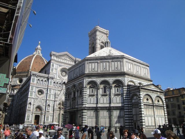 Santa Maria del Fiore Cathedral with the Baptistry
