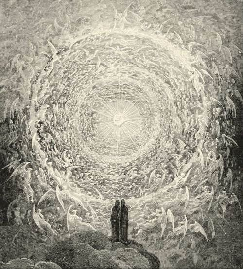 The Paradise, Illustration by Gustave Dorè
