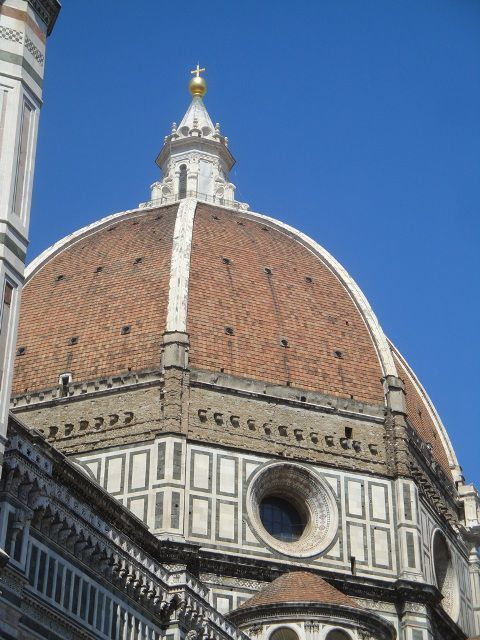 The dome by Brunelleschi