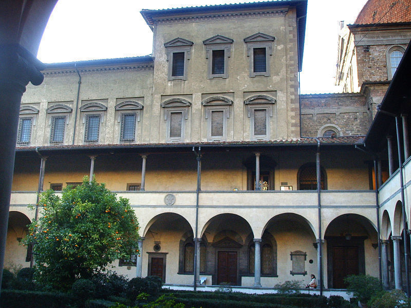 The Laurentian Library in Florence