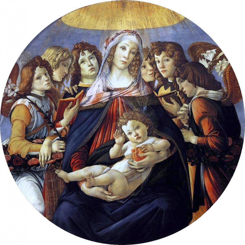 The Madonna of the Pomegranate