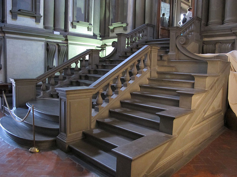 The Michelangelo's staircase
