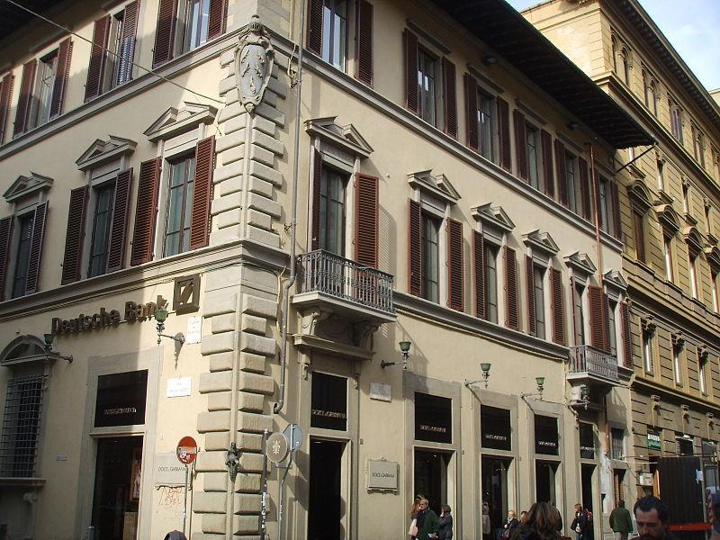 Palazzo Vecchietti with the Little Devil