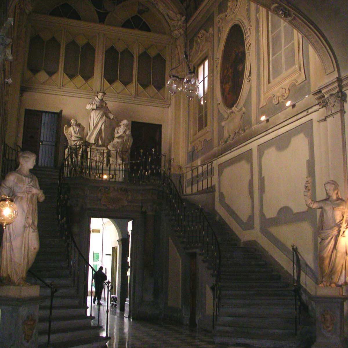 The ancient San Giovanni di Dio Hospital in Florence