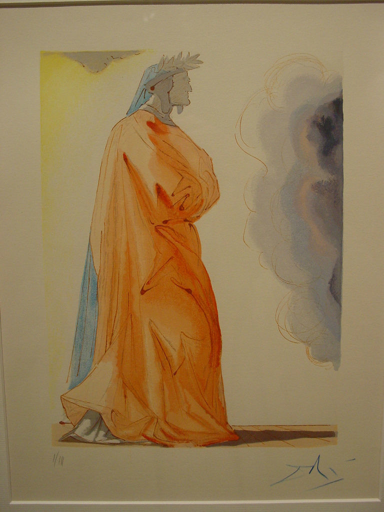 Dante Alighieri by Salvador Dalì