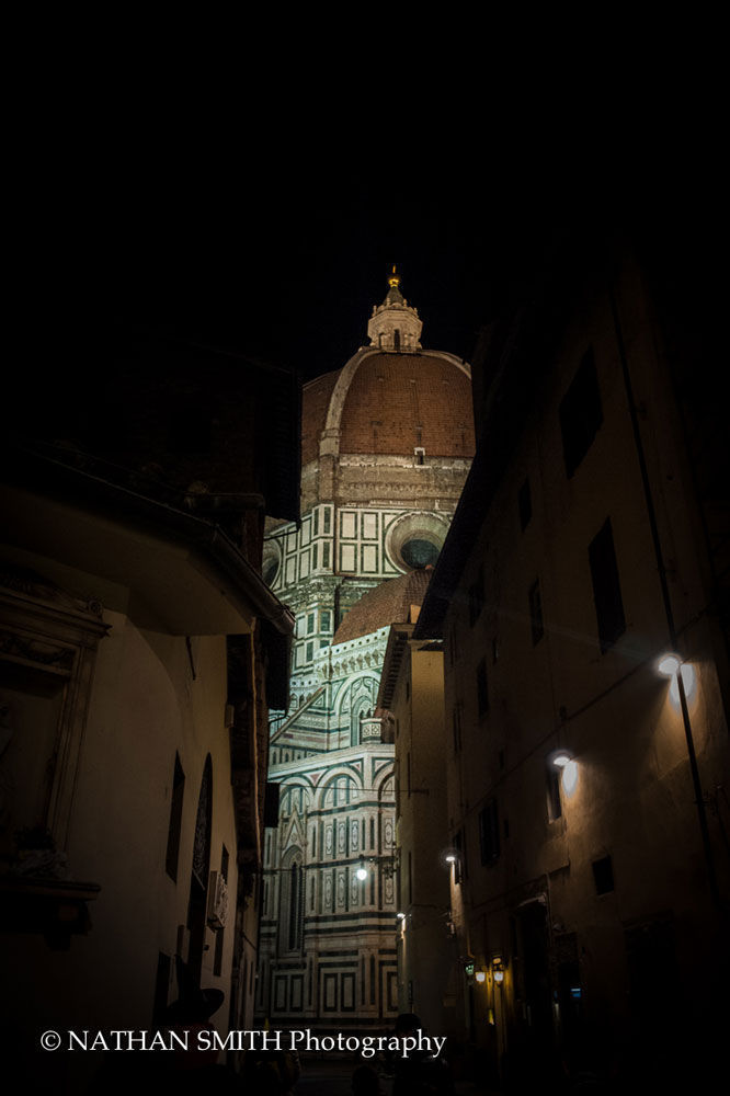 Brunelleschi's Dome by night