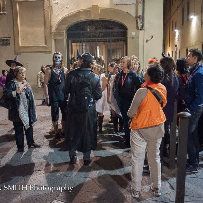 The Florence Inferno Halloween Tour group