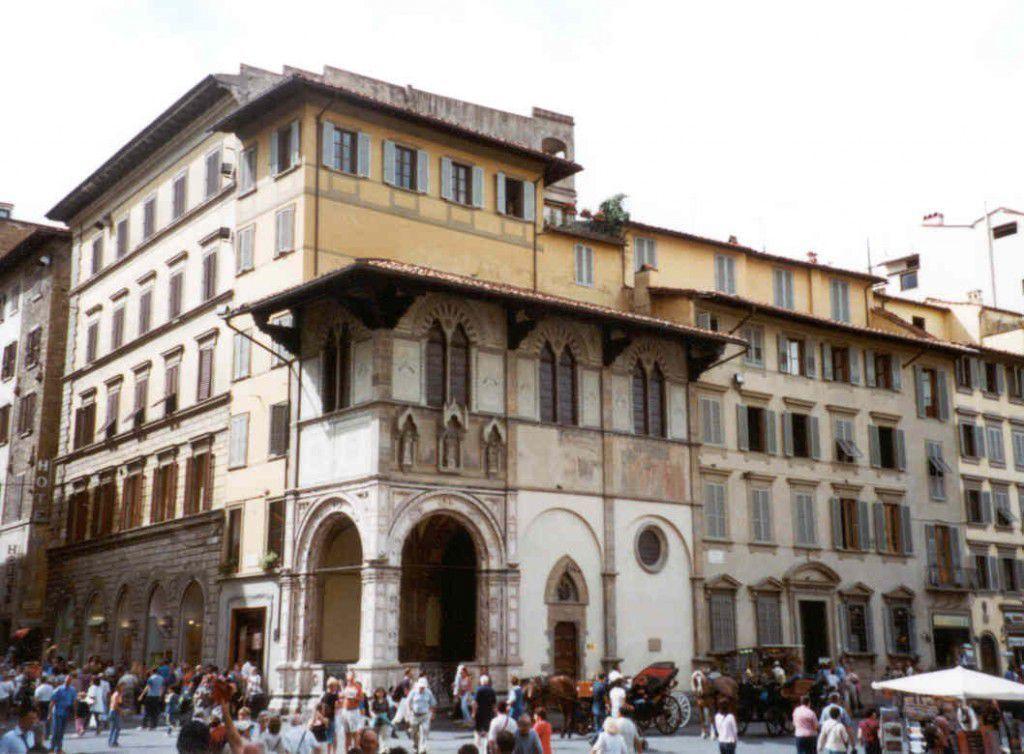 The Loggia del Bigallo in Florence