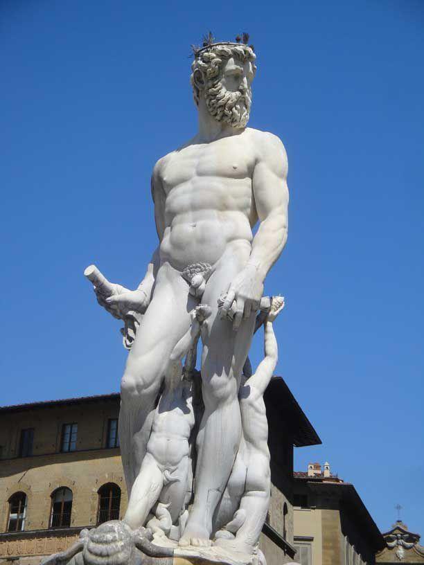 """The """"Biancone"""" in Piazza della Signoria"""