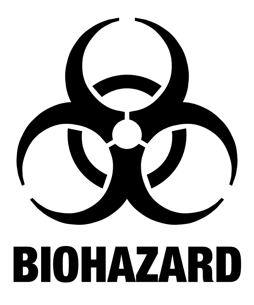 The biohazard symbol meaning biohazard level 4 by simon strandgaard biocorpaavc Image collections