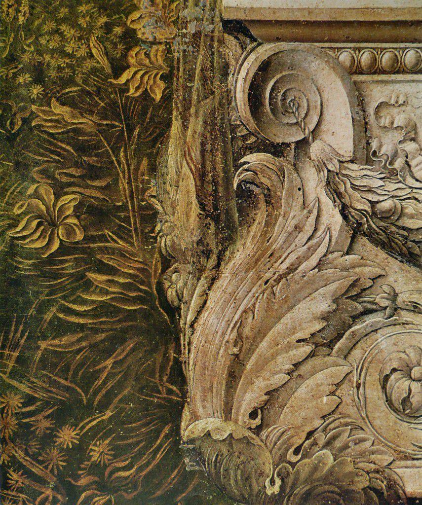 An Annunciation's detail