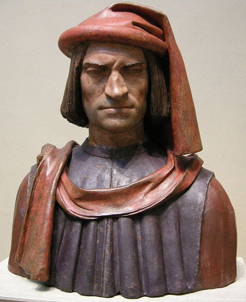 Lorenzo's bust