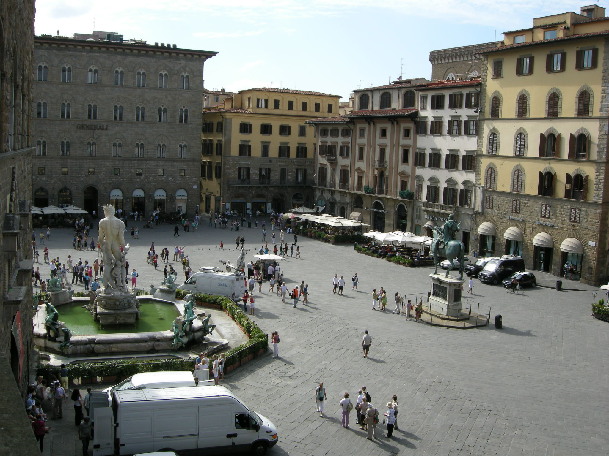 The square from Palazzo Vecchio