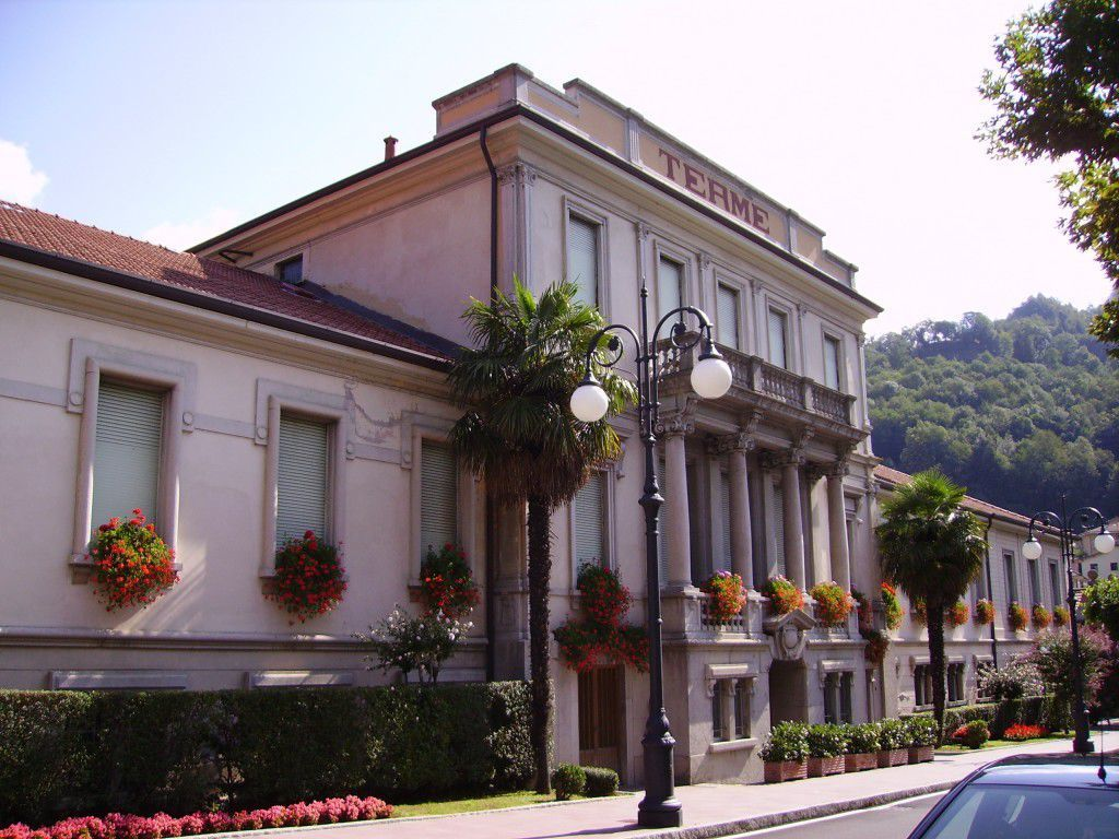 The spa in San Pellegrino