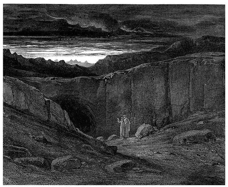 The Gate of Hell by Gustave Dorè