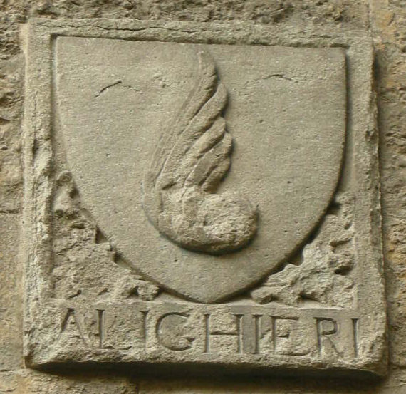 An Alighieri family coat of arms