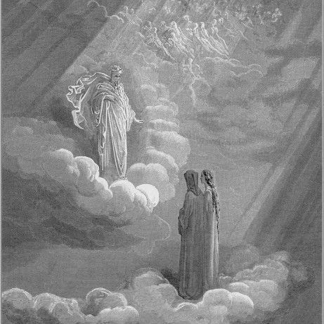 Dante and Cacciaguida by Gustave Dorè