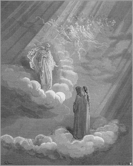 Dante and Cacciaguida by Gustave Dorè