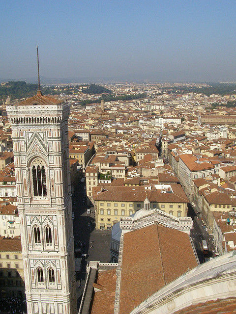 The campanile from the dome